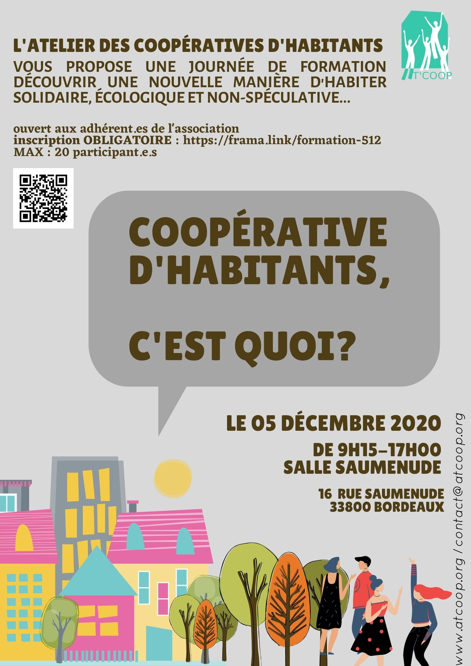 You are currently viewing Formation : une coopérative d'habitants c'est quoi ?